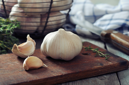 garlic-smelly